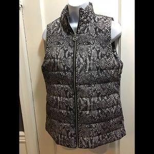 Michael Kors Snake Print Vest. Size: XS NWT